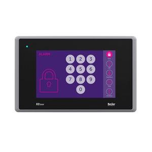 terminal HMI con pantalla táctil / empotrable / 800 x 480 / TFT LCD
