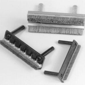 cepillo de listón / de esmerilado / metálico / para herramienta