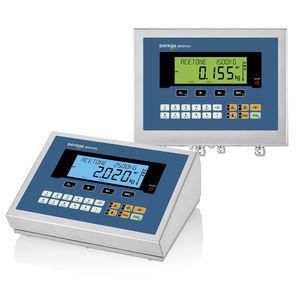 indicador de pesaje visualizador LCD