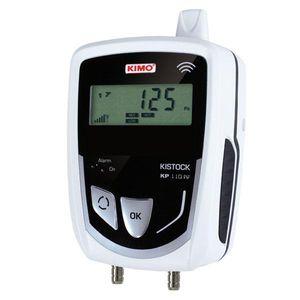 registrador de datos de presión diferencial / inalámbrico / con pantalla LCD / IP65