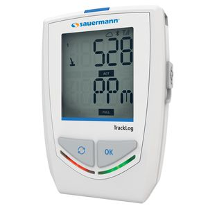 registrador de datos inalámbrico / con pantalla LCD / climático