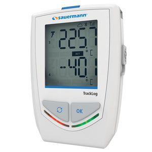 registrador de datos de temperatura y humedad / inalámbrico / con pantalla LCD / para termopar