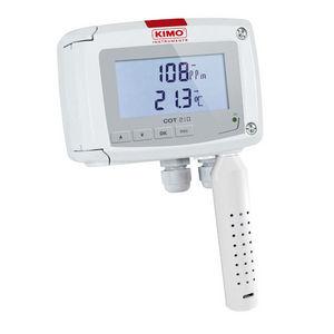 transmisor de temperatura y de CO2 montaje en pared