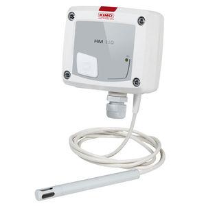 sensor de humedad relativa / de pared / instalado en conducto / digital