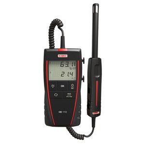 termo-higrómetro digital / portátil / temperatura / a punto de rocío