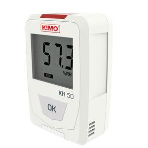 registrador de datos de temperatura / de humedad relativa / USB / con pantalla LCD