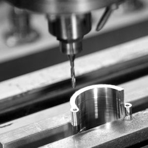 mecanizado fresado latón / titanio / acero / acero inoxidable