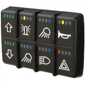 interruptor para vehículos / mecedor / multipolar / electromecánico