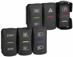 interruptor de vehículo / mecedor / unipolar / electromecánico