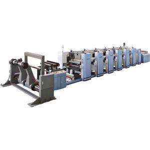 prensa flexográfica para bolsas de plástico