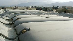 depósito de almacenaje / de combustible / de agua / flexible