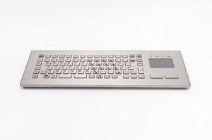 teclado de mesa / 84 teclas / con alfombrilla táctil / compacto