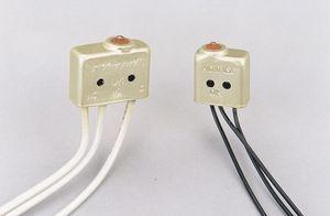 interruptor táctil / 2 polos / unipolar / de acero inoxidable