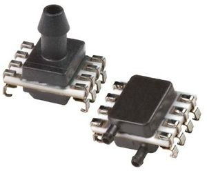 sensor de presión relativa / piezoeléctrico / de cerámica / analógico
