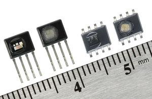 sensor de temperatura y de humedad relativa / con CI / con salida digital / en miniatura