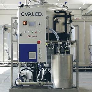 evaporador de vacío