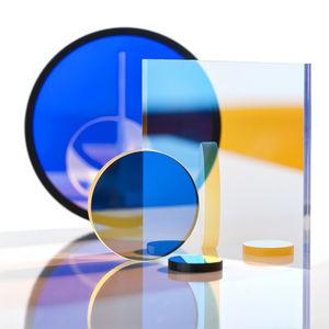 filtro óptico paso de banda UV