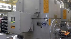 motor de media tensión / trifásico / asíncrono / industrial