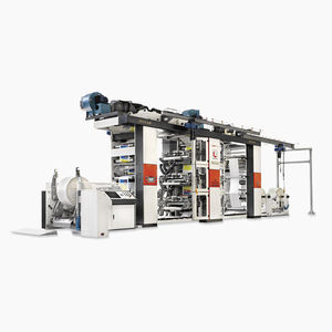 prensa flexográfica en línea / de 6 colores / de 4 colores / para papel