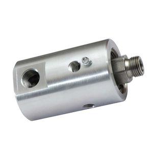 racor giratorio para agua / para aceite / hidráulico / de baja presión