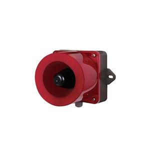 difusor de alarma sonora con avisador luminoso de LED