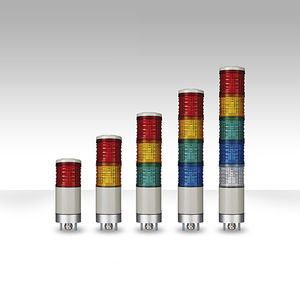 columna de señalización LED / permanente / de 2 colores / de 3 colores