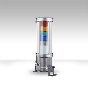 columna de señalización LED / de flash intermitente / de 3 colores / antideflagrante