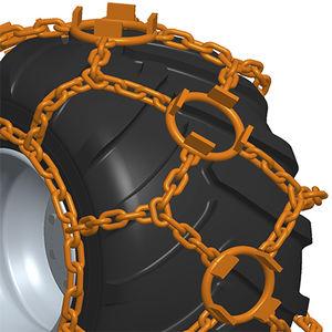 cadena de mando / de acero / de aleación / sobre ruedas de vehículo