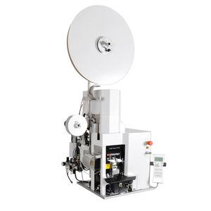 prensa desforradora y aplicadora de sellos con sellado / de cables / automática / neumática