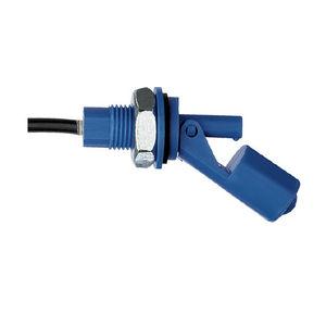 interruptor de nivel de flotador horizontal / para agua / para aceite / de plástico