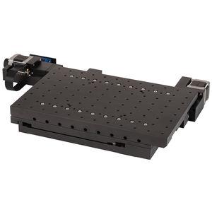 platina de posicionamiento XY / motorizada / 2 ejes / con motor paso a paso empotrable
