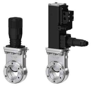 válvula para vacío ultraalto / de compuerta / manual / neumática