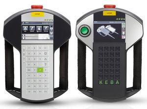 terminal de operador con teclado