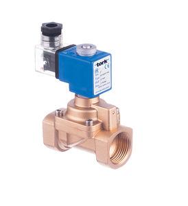 electroválvula de 2 vías / de pistón / de alta presión