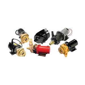 bomba para agua caliente / con motor brushless DC / centrífuga / industrial