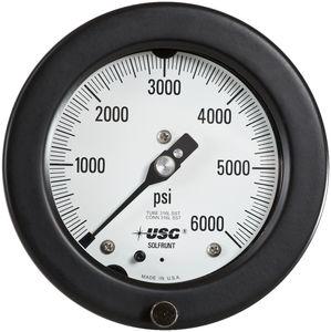 manómetro analógico / de tubo Bourdon / de proceso / para vacío
