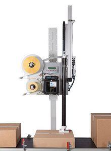 máquina de impresión-colocación de etiquetas de transferencia térmica / multicolor / para cartón / automática