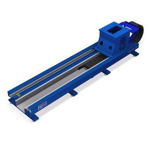 riel de guiado lineal / de soporte / lineal / motorizado