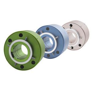 anillo colector con centro hueco / vía Ethernet / de fibra óptica / USB