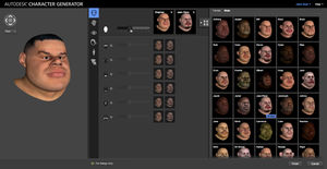 software de mando / de animación / 3D / procesos basados en la web