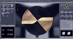 software de análisis / de medición / de filmación de inspección