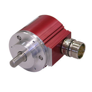 encoder rotativo compacto / absoluto / con interfaz / multivuelta