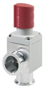 válvula manual / para gas / de acero inoxidable / de ángulo recto