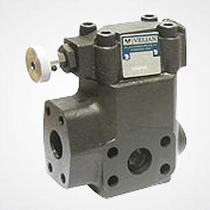 válvula con control hidráulico / de regulación de presión / de brida / de descarga