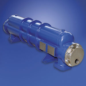 refrigerador de aire comprimido / para compresor / tubular