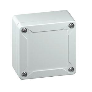 caja de pared / rectangular / de ABS / vacía