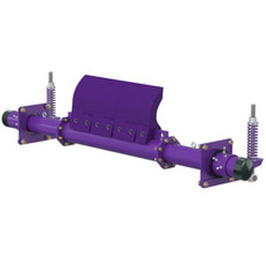prerascador para cinta transportadora de acero con revestimiento en polvo