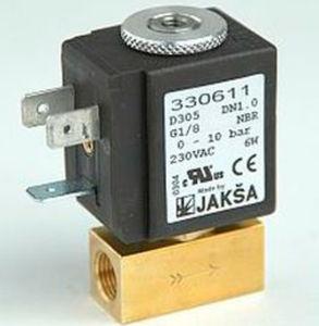 electroválvula de control directo