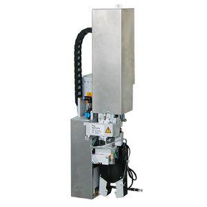 aplicador de etiquetas automático / para etiquetas autoadhesivas / para tuberías / para aplicación en el lateral del producto