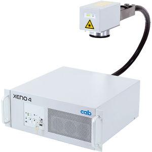aparato de marcado láser de fibra pulsado / compacto / de alta velocidad